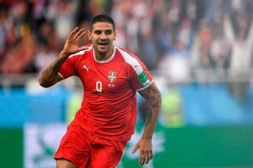 Mitrovic opened the scoring for Serbia
