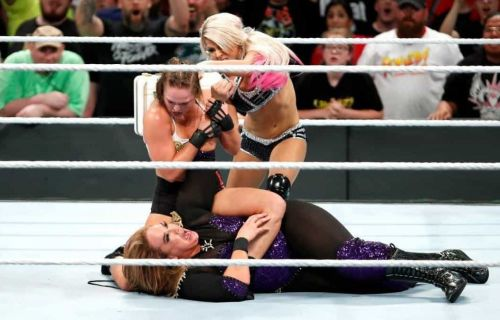 Ronda Rousey and Nia Jax put on a great match at WWE Money In The Bank 2018