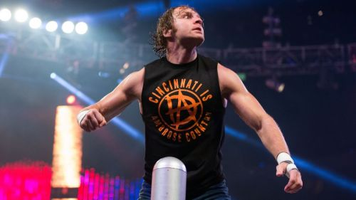 Ambrose hasn't been seen in the WWE since December 2017