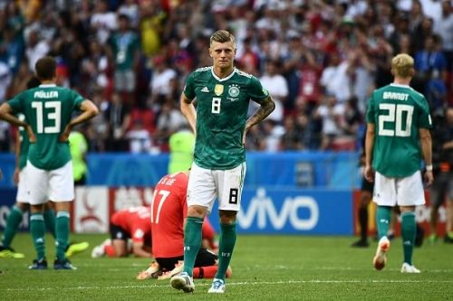 Germany became the victims of the infamous World Cup curse