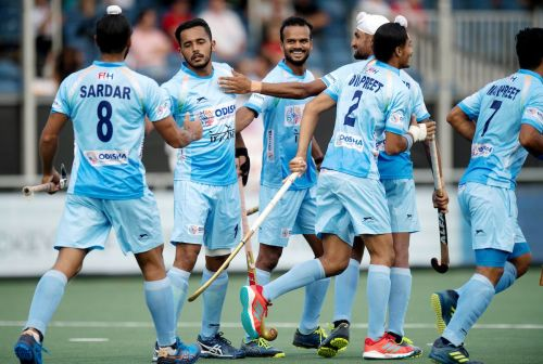 FIH Champions Trophy 2018 : Defenders keep INDIA's contention for finals alive