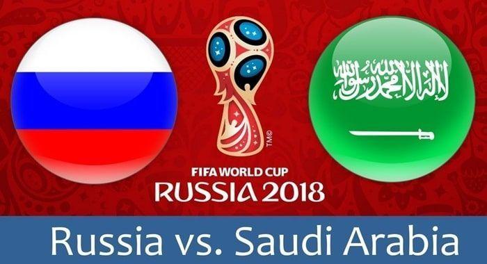 """Résultat de recherche d'images pour """"Russia vs Saudi Arabia"""""""