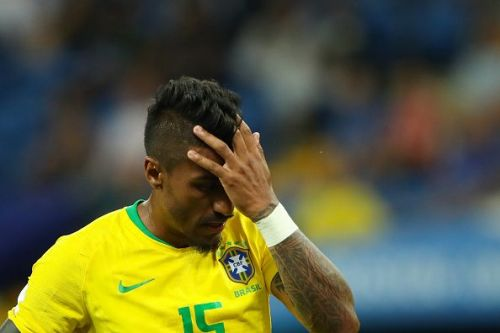 Paulinho could not replicate his form with Barcelona for the Selecao