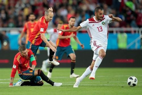 Spain v Morocco : Group B - 2018 FIFA World Cup Russia