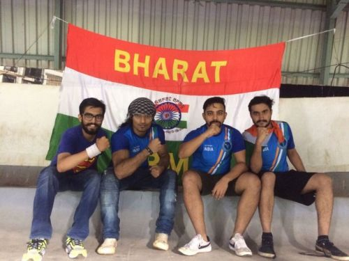 Members of the Bharat Army