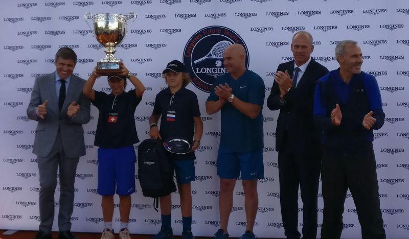 Kilian Feldbausch Longines Future Tennis Aces