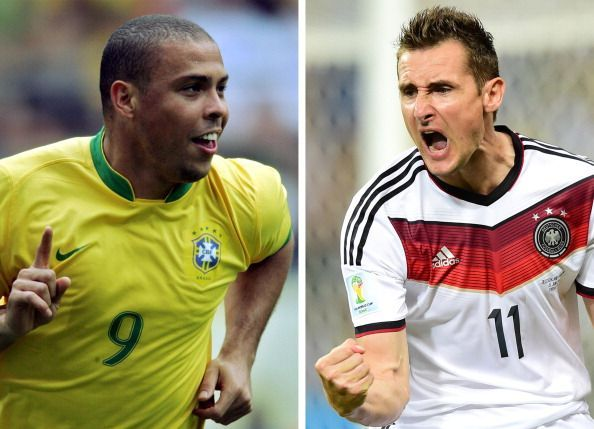 Top 5 goalscorers in World Cup history