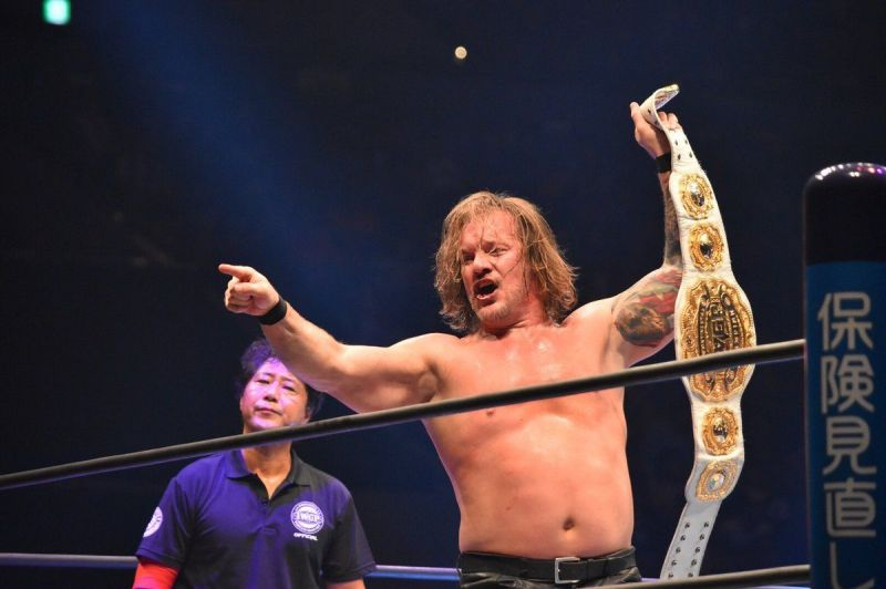 Chris Jericho is the new IWGP IC Champion