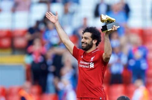 Mo Salah signed off in the Premier League with the Golden Boot.