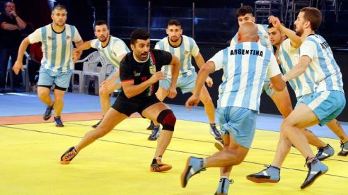Argentina ready to face Iran in the Kabaddi Masters 2018