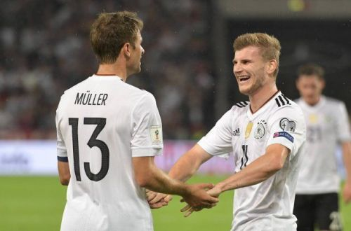 Image result for timo werner thomas muller
