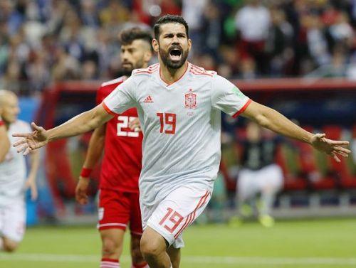 Football: Spain vs Iran at World Cup
