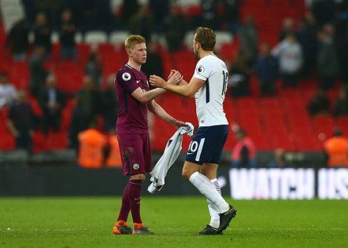 2018 EPL Premier League Football Tottenham Hotspur v Man City Apr 14th