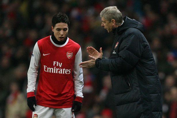 Samir Nasri left Arsenal after angering the fans