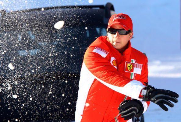 Ferrari Formula One driver Finland's Kim