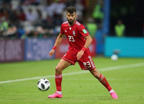 Rezaeian impressed for Iran against the heavyweights in Group B