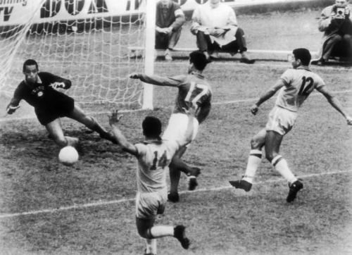 Just Fontaine Scored A Goal Against Brazil In 1958