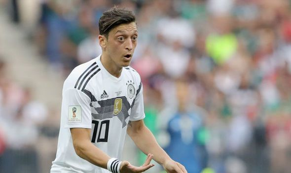 Ozil was awful in the 2018 World Cup