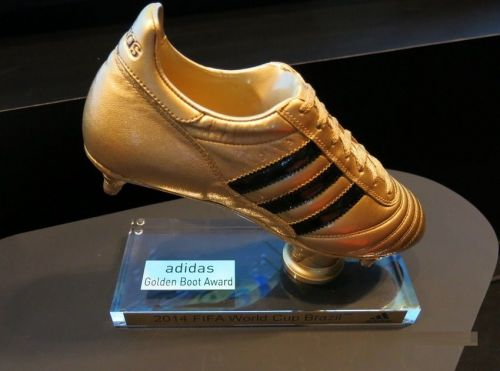 The Golden Boot is awarded to the player with the most goals at the end of the tournament