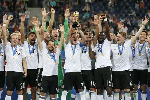 Germany beat Chile in Confederations Cup final
