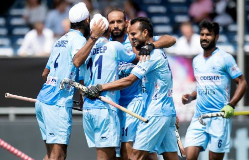 FIH Hockey Champions Trophy 2018 : Team INDIA begins with a bang against Pakistan!
