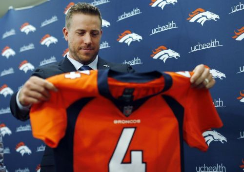 Image result for Case keenum broncos