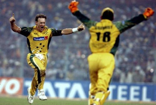 Andy Bichel made brilliant use of the limited opportunities he got.