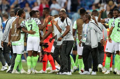 Nigeria need just a point to qualify for the knockout stages