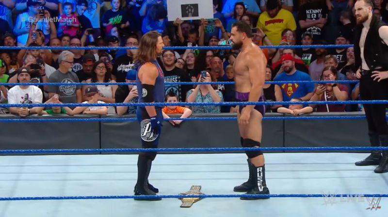 AJ Styles vs. Rusev Extreme Rules