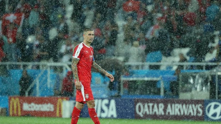 Serbia were stunned by Switzerland with last minute winner