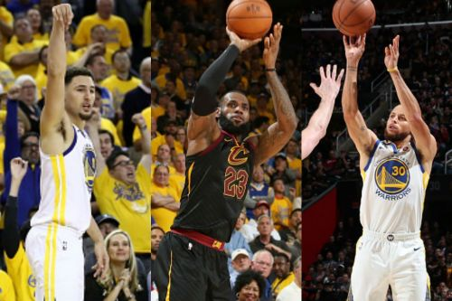 The Cavs-Warriors rivalry helped these three get pretty high on the list