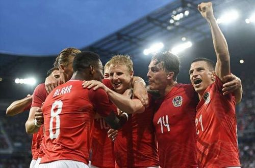 Austria stun Germany with an unlikely 2-1 win