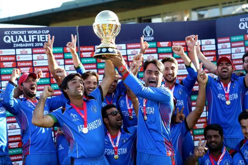 Afghanistan debuted in the 2015 Cricket World Cup.