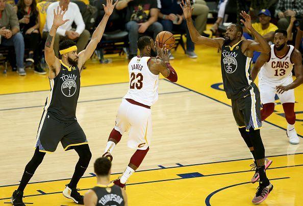 NBA Finals Game 2 Warriors vs. Cavaliers