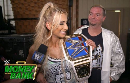 Carmella is presently the reigning WWE SmackDown Women's Champion
