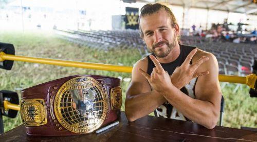 NXT North American Champion Adam Cole