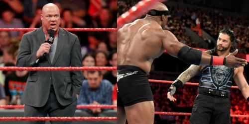 Who will face Brock Lesnar next?