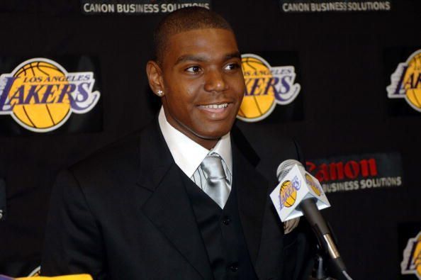 Bynum became the youngest player ever to play in the league in the 2005-06 season