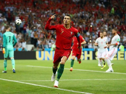 Ronaldo scored the first ha-trick of the 2018 FIFA World Cup