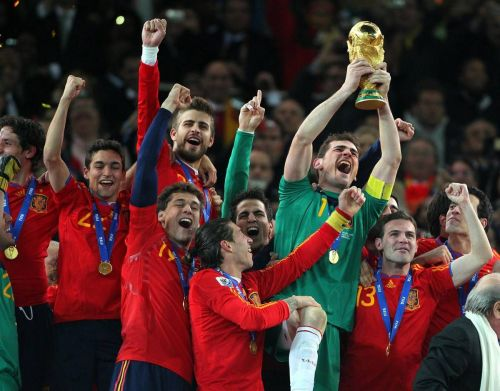 Casillas experienced a captain's greatest dream, lifting the World Cup