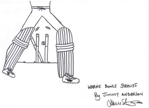 Enter caThe Gatting ball was clearly far from a one-off for Warne, who made magical glimpses the stuff of norm
