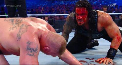 Bildergebnis für Roman Reigns blood