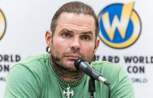 Jeff Hardy seems to have finally achieved closure over his recent legal issues