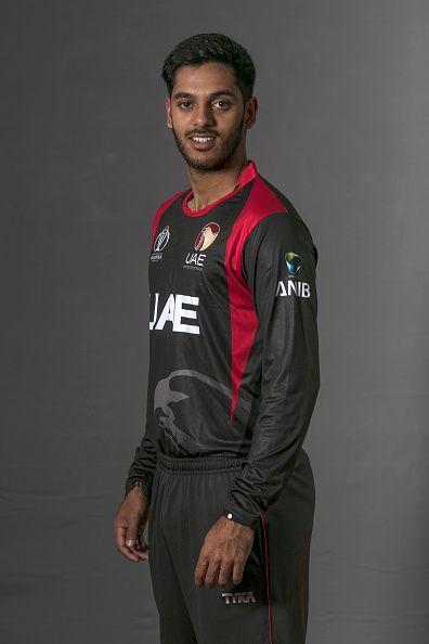 UAE Headshots - ICC Cricket World Cup Qualifier