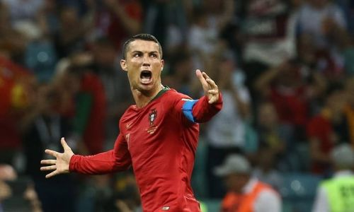 Ronaldo has scored 6 hat-tricks for Portugal