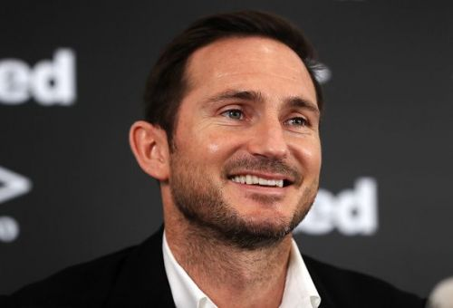 Frank Lampard Press Conference - Pride Park Stadium