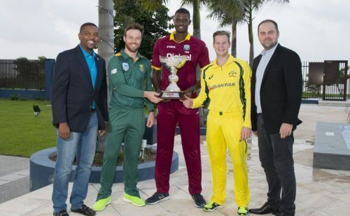 West Indies Tri-Nation Series 2016 played between Australia, South Africa and WI