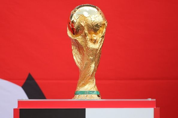 2018 FIFA World Cup trophy delivered to Moscow