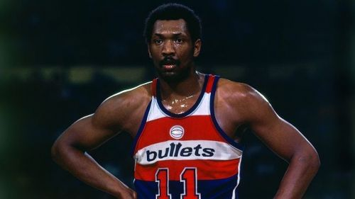 Hayes is the all-time leading scorer for the Washington Bullets/Wizards.