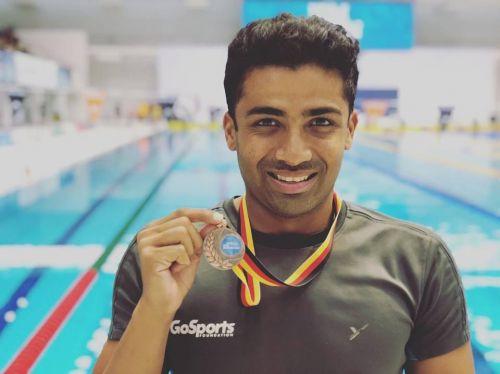 Para-swimmer Niranjan Mukundan